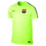 Camisa Nike Barcelona Squad - Futebol no Mercado Livre Brasil a9c17d9c622