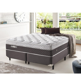 Cama Box King Ecoflex Versatille Fresh Molas Verticoil 193x2