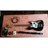 Bajo Eléctrico J Bass Kit Completo Muy Poco Uso (nuevo)