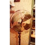 Transferir - Antiguo Ventilador Power De Luxe Cuerpo Metal