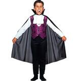 Fantasia Conde Drácula Vampiro Completo Sulamericana Infanti