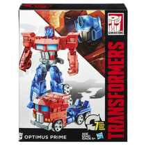 B0785 Transformers Generations Cyber 7 - Optimus Prime