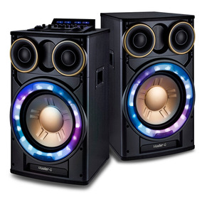 Juego De Parlantes Bluetooth 12 Plg Master G