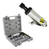 Mini Retífica E Esmeril Pneumático 8nj C/ Maleta E Kit Eda
