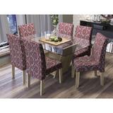 Conjunto Mesa Jantar Kappesberg Zattar Com 6 Cadeiras Cad107