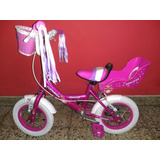 Bicicleta R12 Topmega Nena Rosada