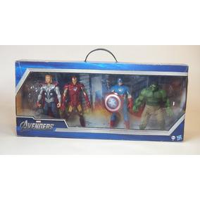 4 Avengers Hasbro Figuras De Acción Ironman Hulk Thor Americ