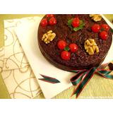 Torta Negra Navideña