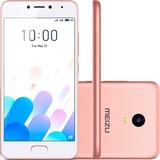 Vi Smartphone Meizu M5c Dual Sim 4g 2gb Ram 16gb - Rosa