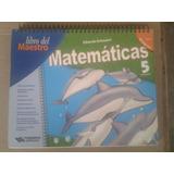 Libro Del Maestro Matematicas 5 Primaria Eduardo Echeverria