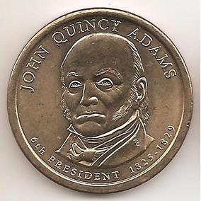 Estados Unidos, Dollar, 2008 P. John Q. Adams. Sin Circular
