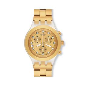 Reloj Swatch Full Blooded Cronografo Cristal Swa. Wr Garanti