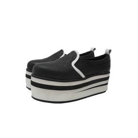 Zapatos Mujer Plataformas Panchas Zapatillas Cuero Paradisea