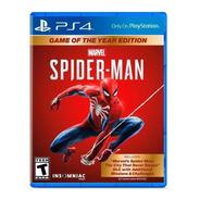 Juego Ps4 Spiderman Marvel Edicion Juego Del Año