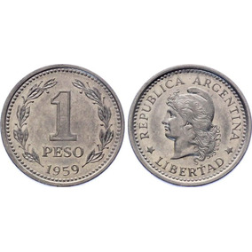 Argentina 1 Peso 1959 Km# 57