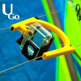 Gopro Nas Linhas Do Kite - Ugo Kite - Acessório Kitesurf
