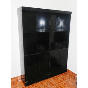 Libreros De Madera Color Negro Vendo Por Falta Espacio