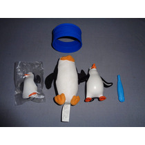 3 Figuras De La Pelicula Los Pingûinos De Madagascar