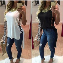 Blusones Largos A La Moda De Vestir
