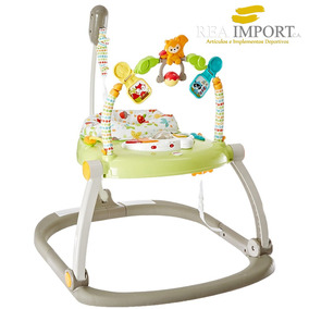 Brinca Brinca Jumperoo Fisher Price Para Bebe Sonido Y Luces