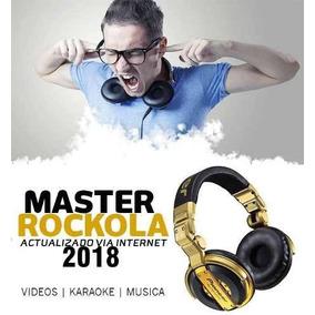 Master Rockola - Actualización Rockola 2016 - 2018