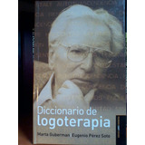 Diccionario De Logoterapia Marta Guberman, E Lumen, Argentin
