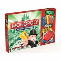 Monopoly Con Posnet ! Banco Electronico Juego De Mesa Hasbro