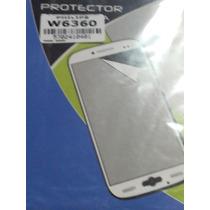 Protector Film Anti Grasa Philips W6360 Plastico