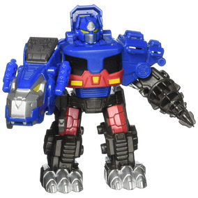 Playskool Heroes Transformers - Robô Rescue Bots - Optimus P