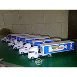 Coleccion De Trailer Y Camioncitos Bimbo