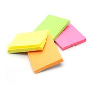 Kit Com 10 Blocos Adesivo Post-it Color 76x50mm Stick Note