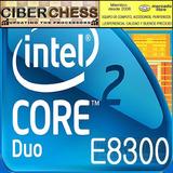 Intel Core 2 Duo E8300 2.83gh/6mb/1333fs/775 Procesador