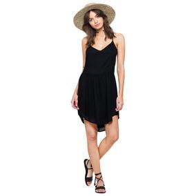 Vestido Kari Solid Negro Amuse Society