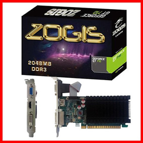 Placa Video Geforce Gt710 2gb Ddr3 64b Zogis - Promoção