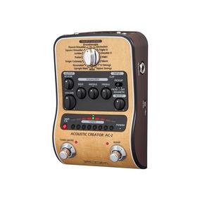 Pedal Zoom Ac-2 Para Violão Pedaleira Criador Acústico Ac2