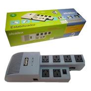 Estabilizador Atomlux De R1000 1000 Va 2 Pc