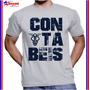 Camisa Camiseta Graduação Em Ciências Contábeis Personaliza