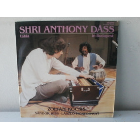 Lp Shri Anthony Dass - Table 1983 - Importado C/encarte