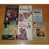 Textos Escolares Para Bachillerato, Primer Y Segundo Año