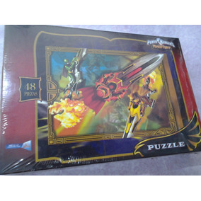 Rompacabezas O Puzzle De Power Rangers Y Princesas