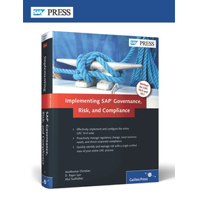 Sap Press Implementing Sap Governance, Risk, And Compliance