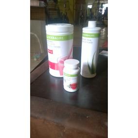 Kit De Herbalife Aloe Concentrado,malteada Y Te