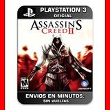 Assassins Creed 2 Ps3 Ultimate Edition Digital Promocion