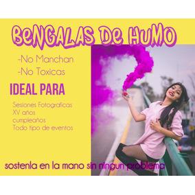 Humo De Colores Bengalas Bombas Fotografia Granada Promocion