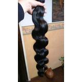 Cortinas De Pelo Onduladas De 45cm 100% Natural Y Virgen