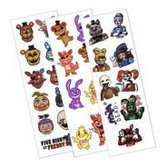 Plancha De Stickers De Five Nights At Freddy's Fnaf