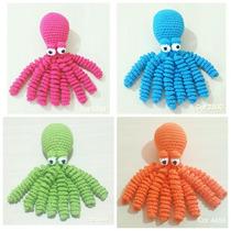 Polvo Crochê Para Recém-nascidos 100% Algodão Várias Cores