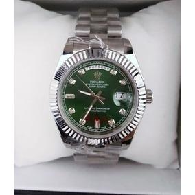 1c15290e252 Relogio Jimin Masculino Verde Escuro Rolex - Relógios De Pulso no ...
