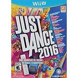 Just Dance 2016 Nintendo Wii U Nuevo Sellado Original