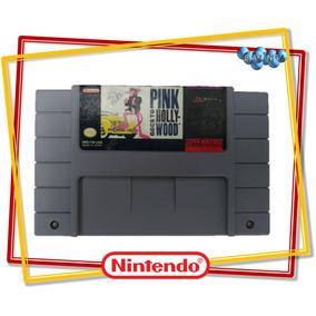 Pantera Cor De Rosa Super Nintendo Orignal